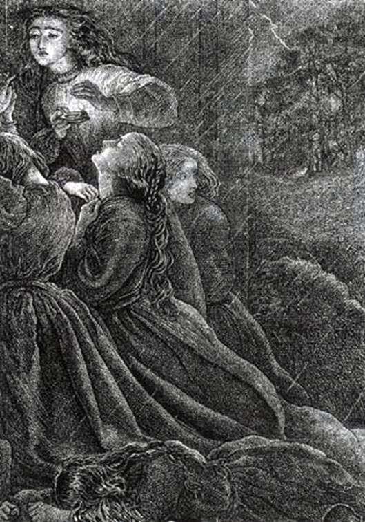 7人の愚かな処女   John Everett Millais
