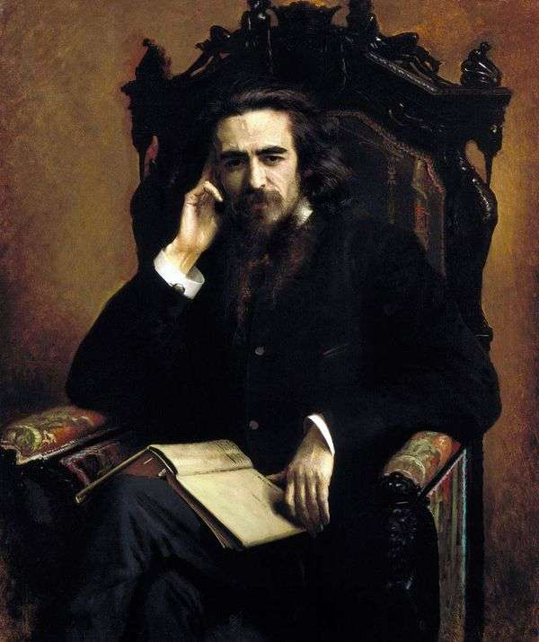 Solovyov   Ivan Kramskoyの肖像