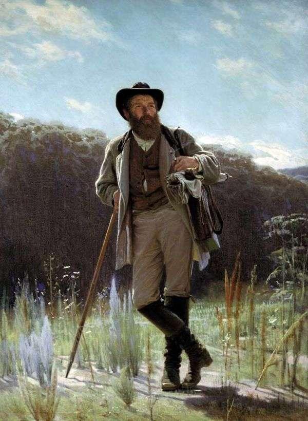 アーティストの肖像I. Shishkin   Ivan Kramskoy