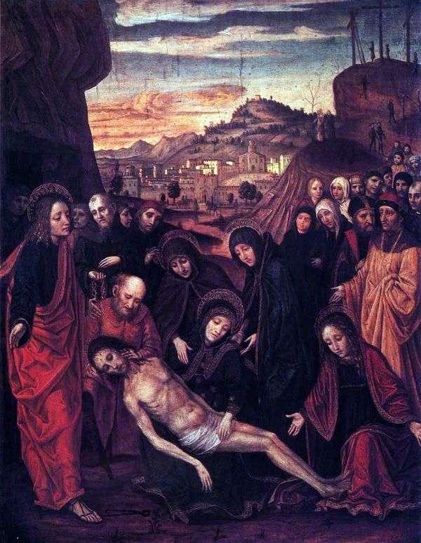 キリストの嘆き   Ambrogio Borgognone