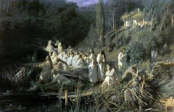 May Night(Mermaids)   イワン・クラムスコイ