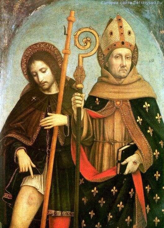 トゥールーズのセントロッチとセントルイス   Ambrogio Borgognone