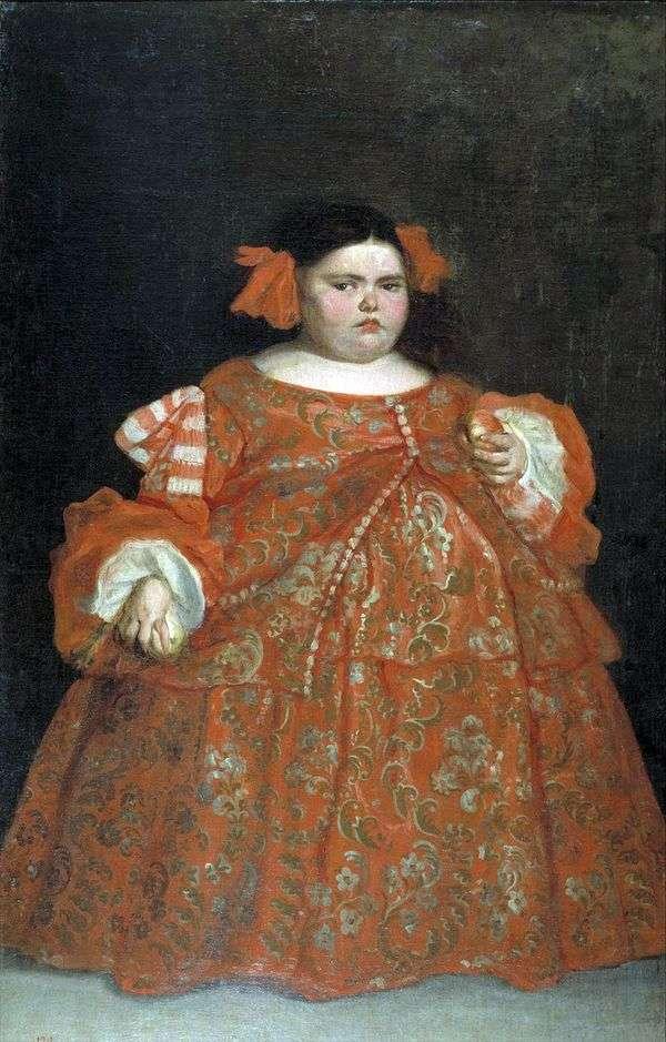 Eugenia Martinez Vallejo(ラモンスター)   Juan Carreno de Mirandaの肖像