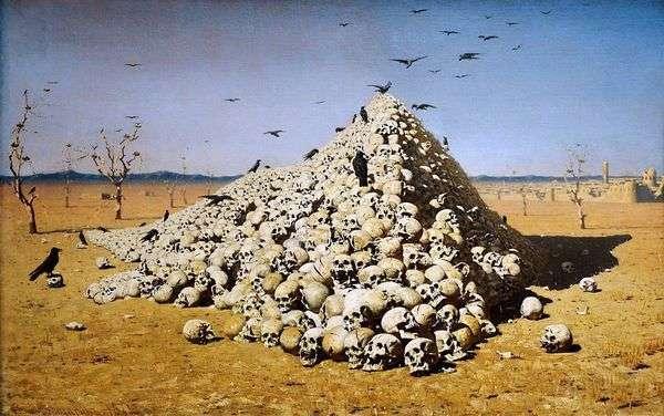 戦争の神格化   Vasily Vereshchagin