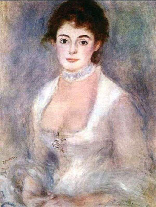 Henrietta Henriot   ピエールオーギュストルノワール