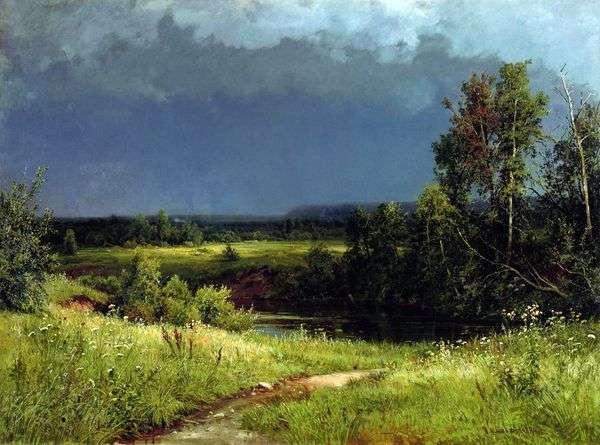 嵐の前に   Ivan Shishkin