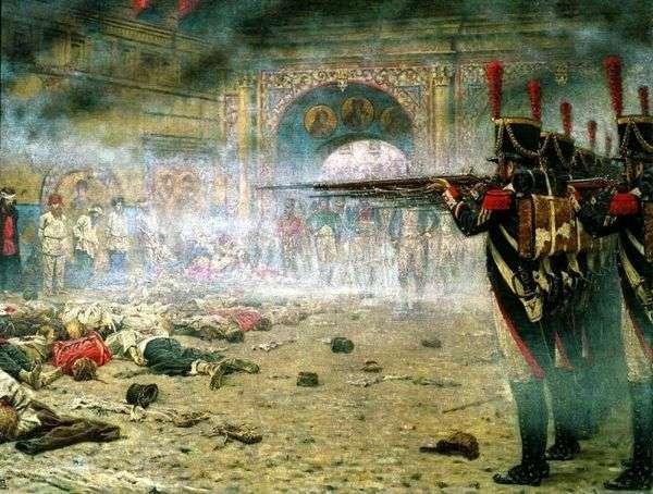 モスクワで征服された(「放火犯」または「クレムリンでの射撃」)   ヴァシリー・ヴェレシャチェジン