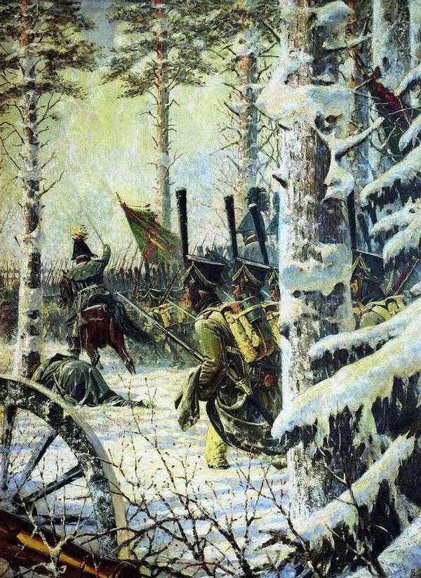 銃剣で!万歳!万歳!   Vasily Vereshchagin