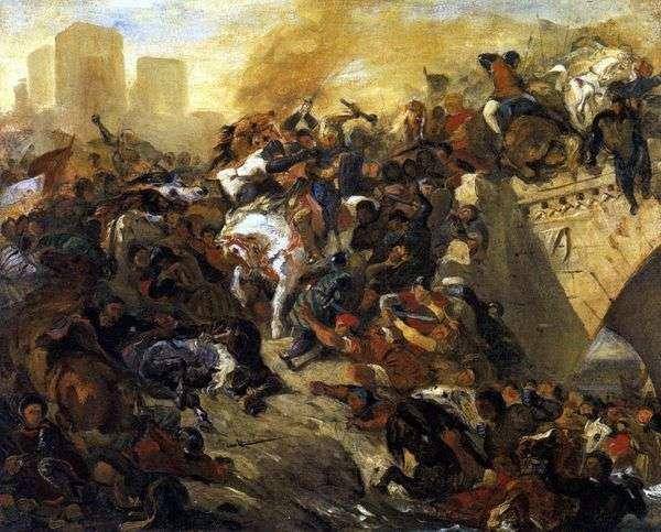 Teyeburの戦い   ユージーンドラクロワ