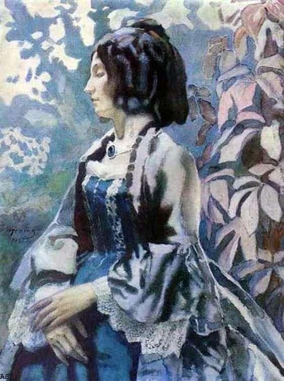 Lady in Blue   ビクター・ボリソフ・ムサトフ