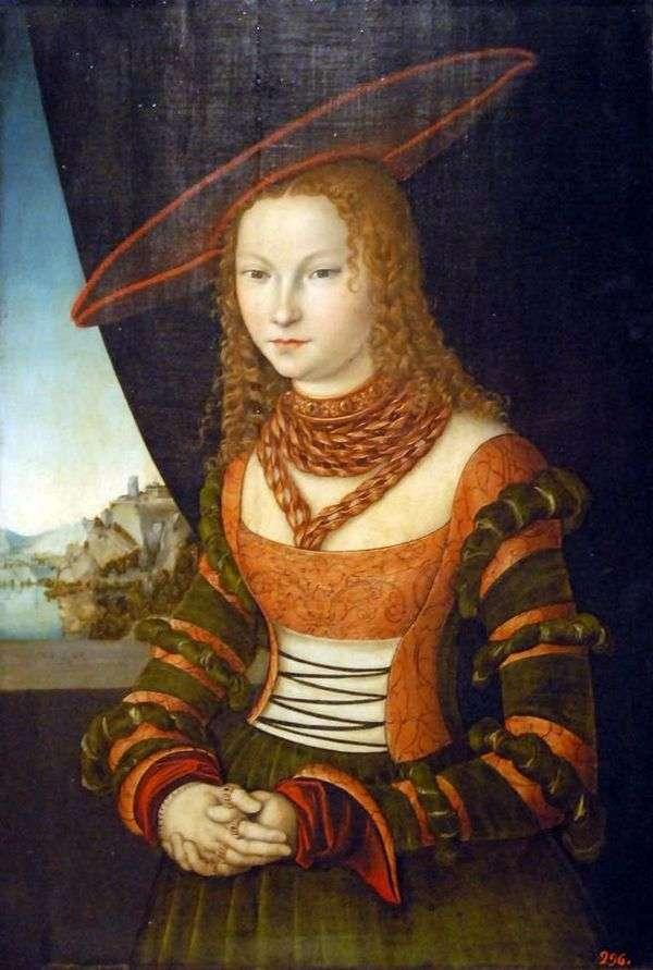 女性の肖像   ルーカス・クラナック