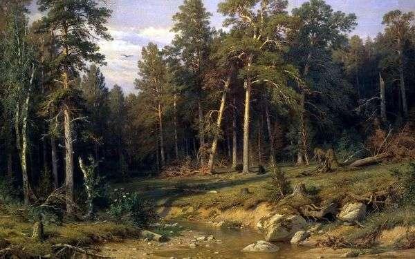 松の森 Vyatka州のマストフォレスト   Ivan Shishkin