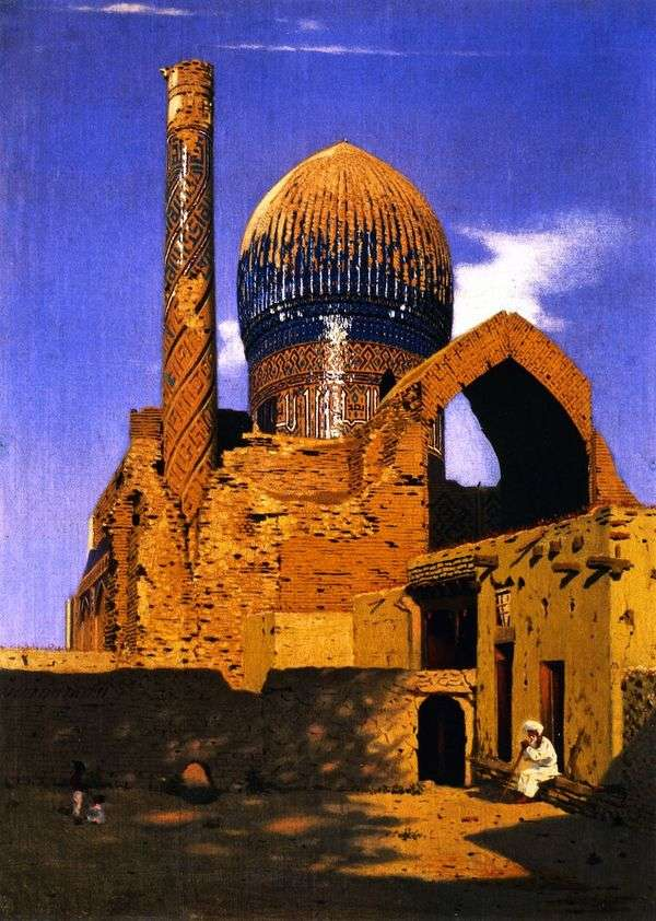 霊廟グル=エミール。サマルカンド   Vasily Vereshchagin