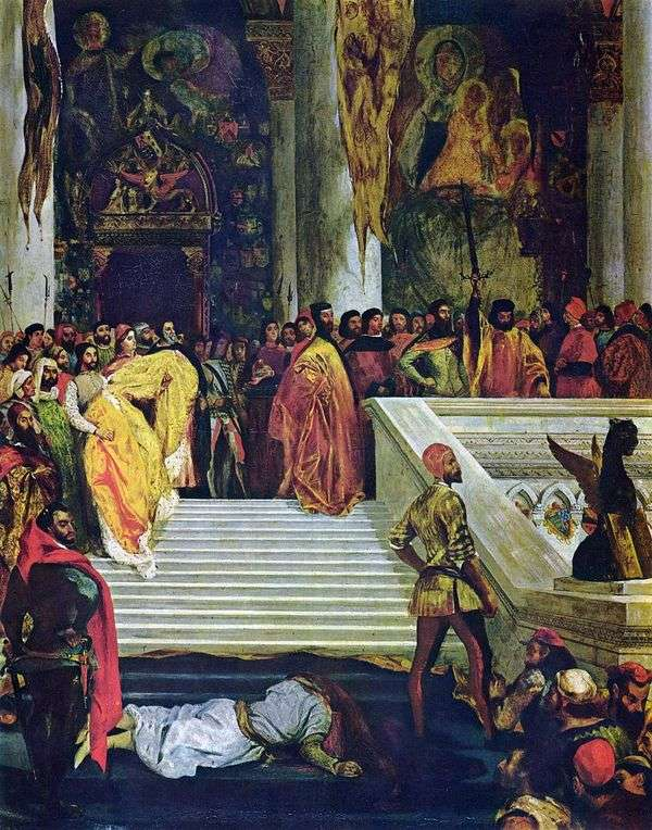 Doge Marina Faliero   Eugene Delacroixの処刑