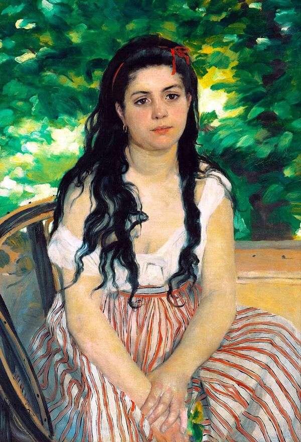 Summer(Gypsy Girl)   ピエールオーギュストルノワール