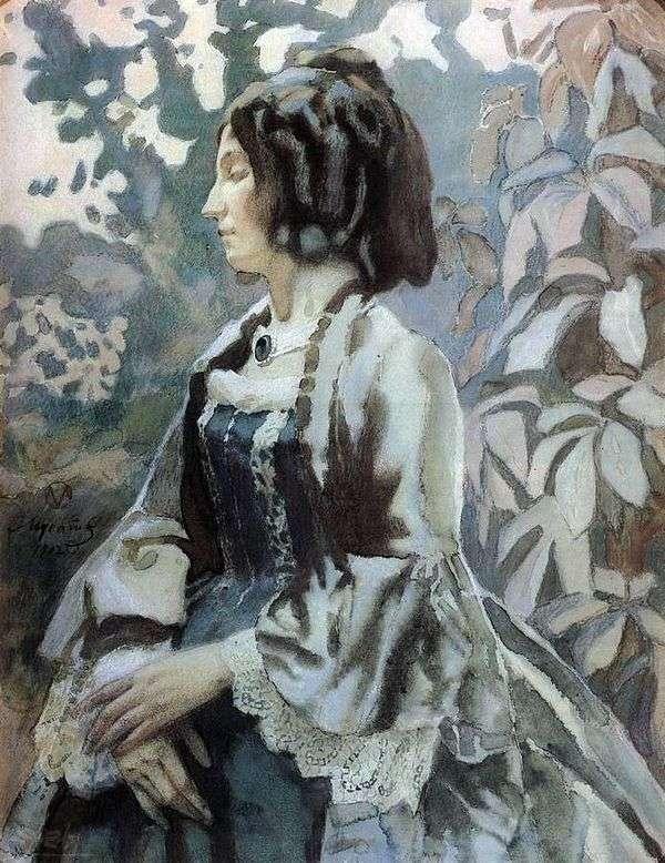 Woman in Blue   ビクター・ボリソフ・ムサトフ