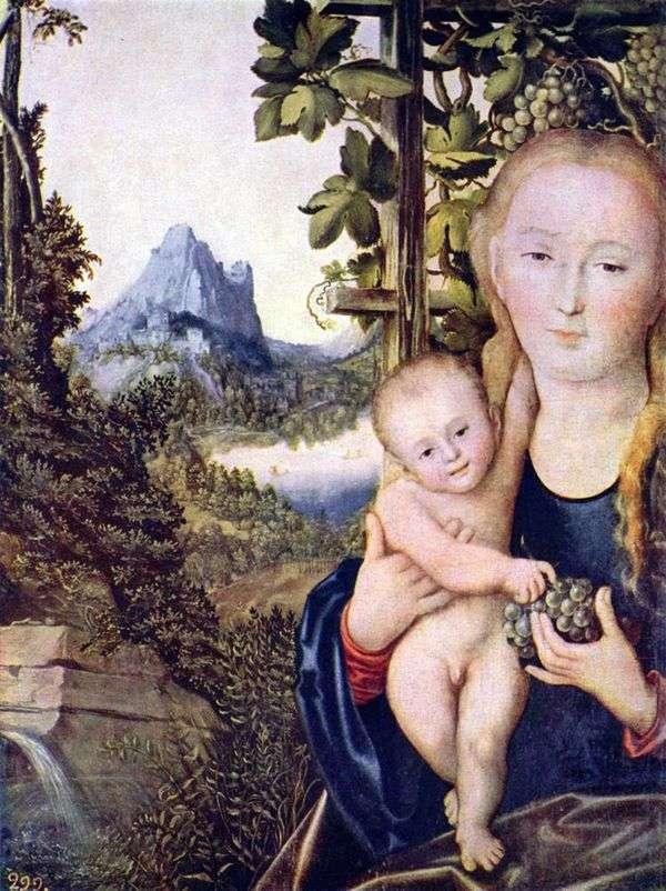 マドンナと子   ルーカス・クラナック