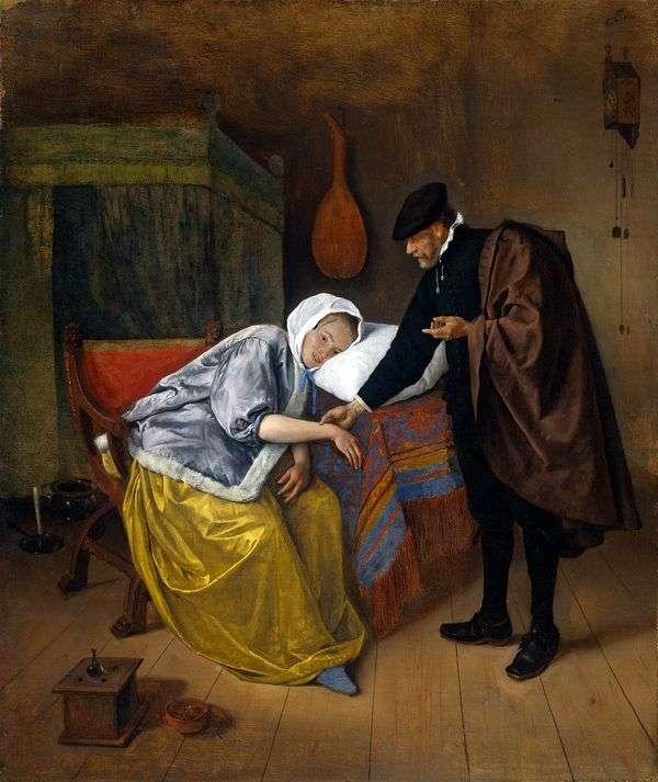 医者と患者   Jan Steen