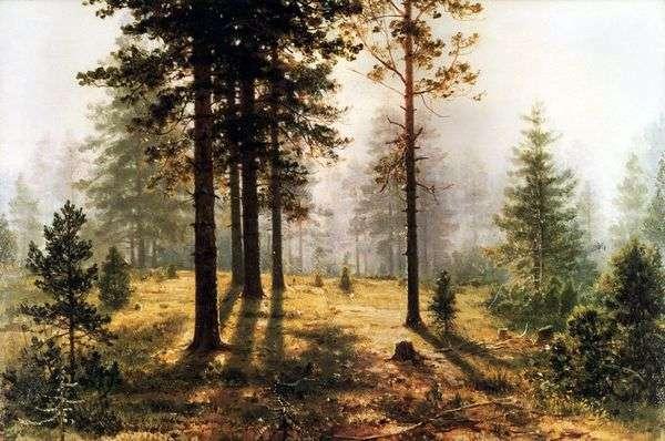 森の中の霧   Ivan Shishkin