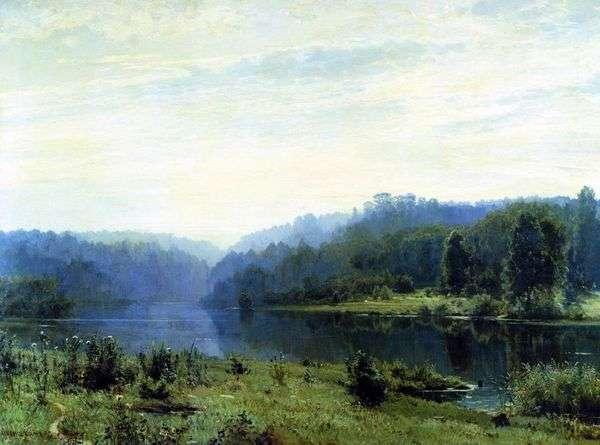 霧の朝   Ivan Shishkin