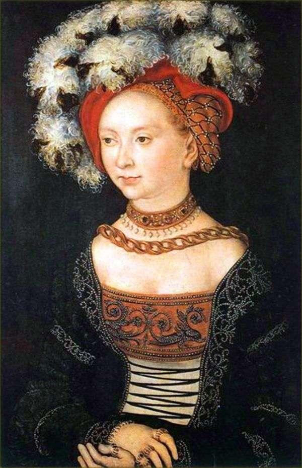 若い女性   ルーカス・クラナック