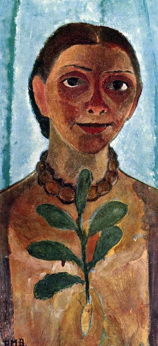 椿ポーラモデルソンベッカーの自画像