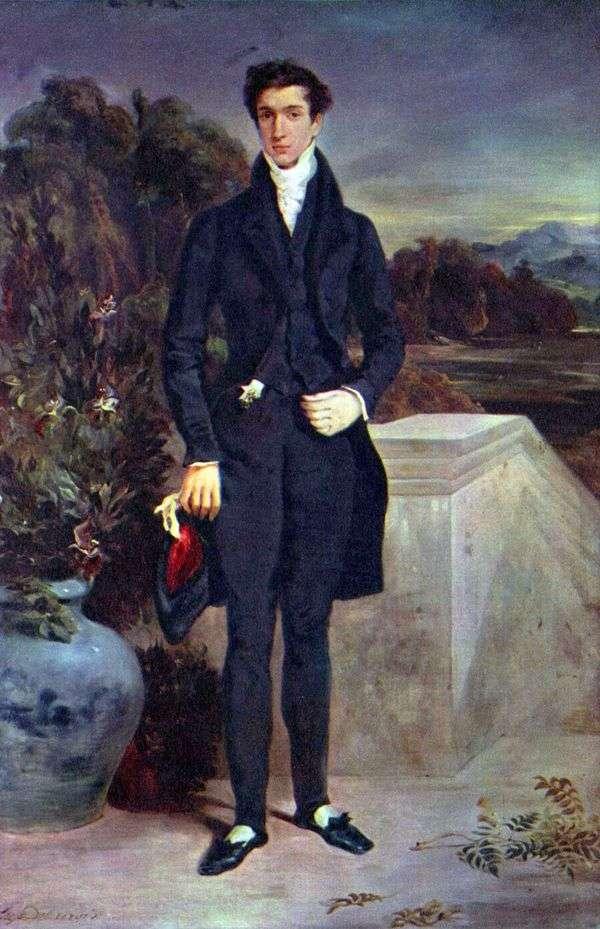 男爵シュバイター   ユージーン・ドラクロワの肖像
