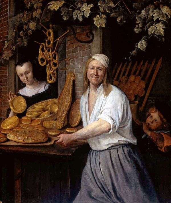 Baker Astwardと彼の妻Katharina   Jan Steen