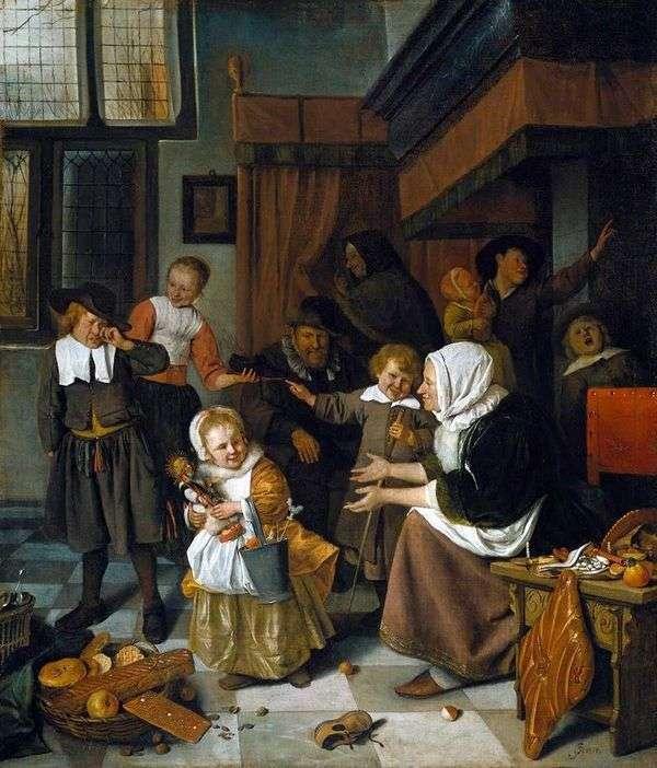 聖ニコラスの饗宴   Jan Steen