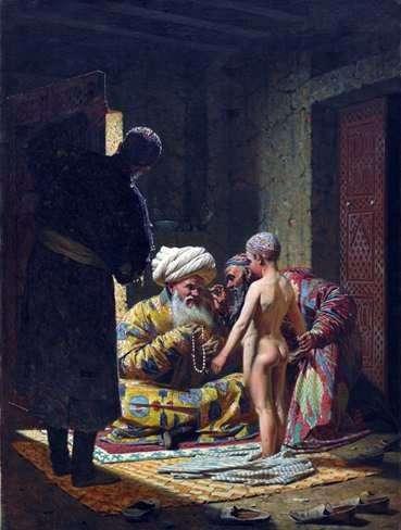 子供の奴隷の販売   Vasily Vereshchagin