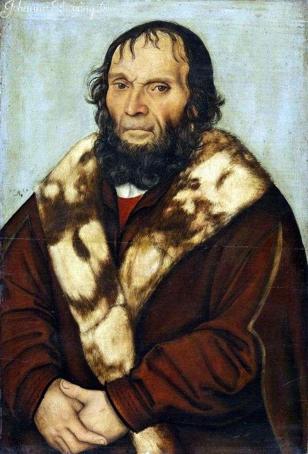 Dr. Johann Shiring   Lukas Cranachの肖像
