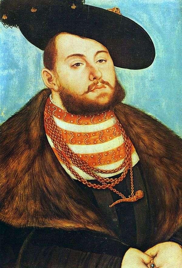 Johann Friedrich the Magnanimous   ルーカス・クラナックの肖像