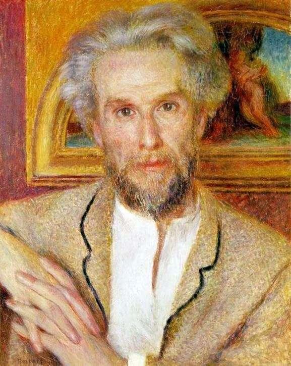 Victor Choquet   Pierre Auguste Renoirの肖像