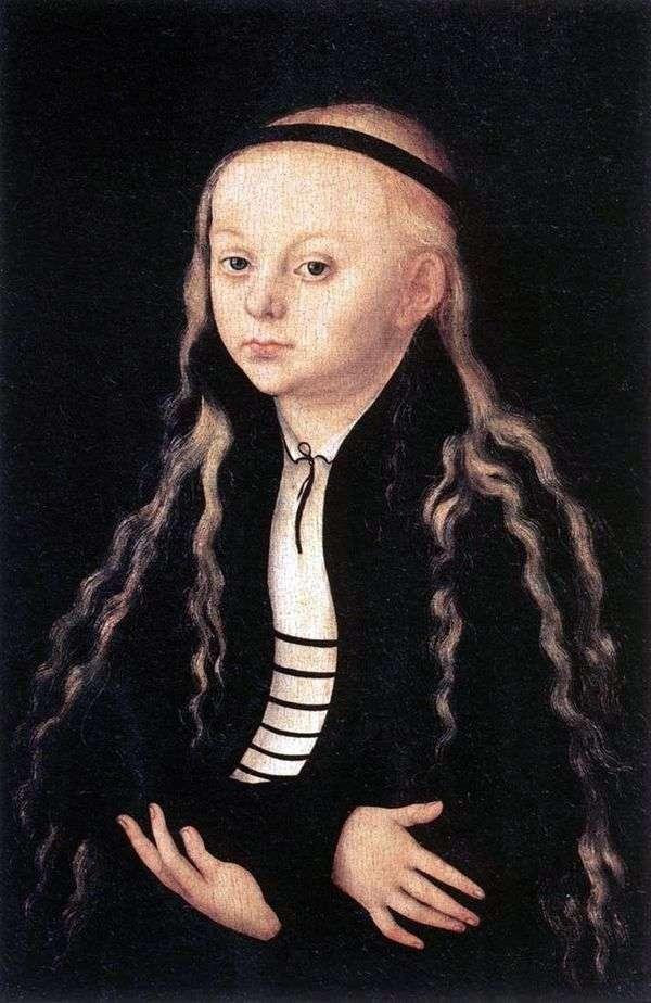 マグダレナ・ルター   ルーカス・クラナックの肖像