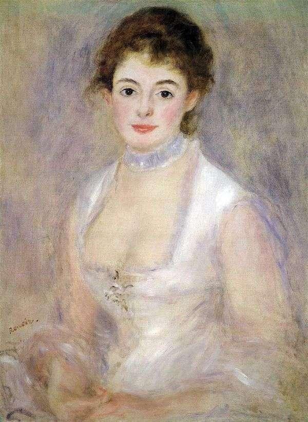 Henriettaの肖像Henriot   ピエールオーギュストルノワール