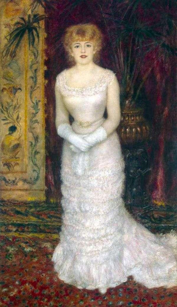 ジャンヌ・サマリーの成長   ピエールオーギュストルノワールの肖像