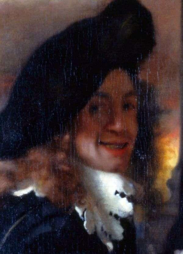セルフポートレート   Jan Vermeer