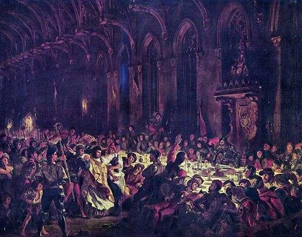 リエージュ大司教の殺害   ユージーン・ドラクロワ