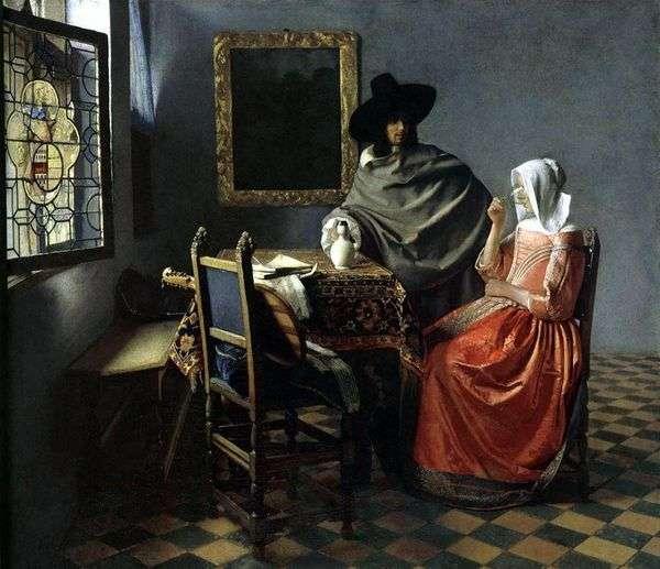 ワイン1杯   Jan Vermeer