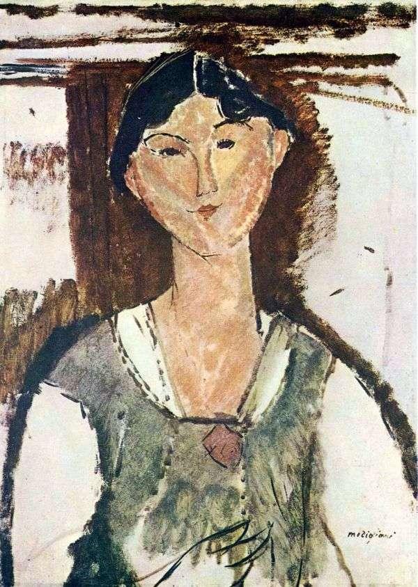 ベアトリスヘイスティングス   Amedeo Modigliani
