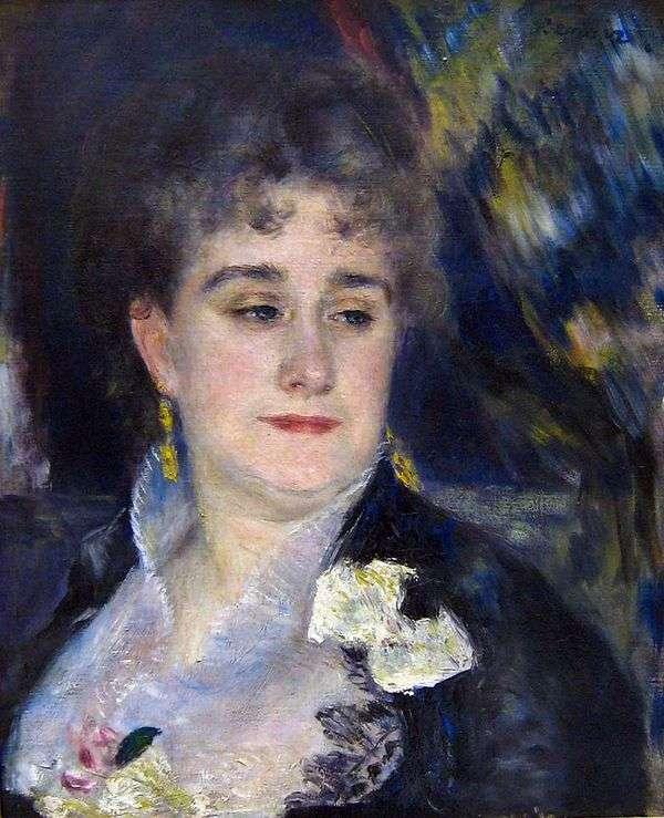 マダムシャルペンティアの肖像   Pierre Auguste Renoir
