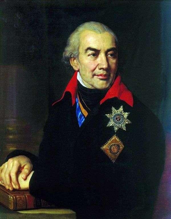 G. S. Volkonsky   ウラジミールBorovikovskyの肖像