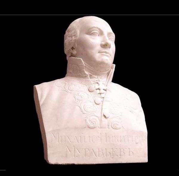 バストM. N. ムラヴィエフ   V. I. Demut Malinovsky