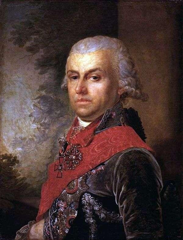 D. P. Troschinsky   ウラジミールボロビコフスキーの肖像