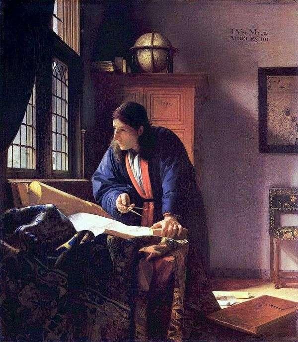 地理学者   Jan Vermeer