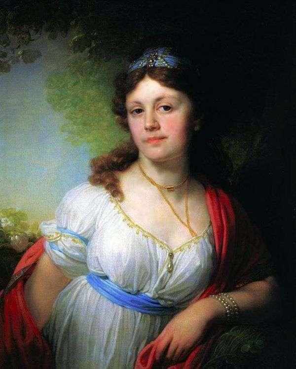 E. G. Temkina   ウラジミールBorovikovskyの肖像