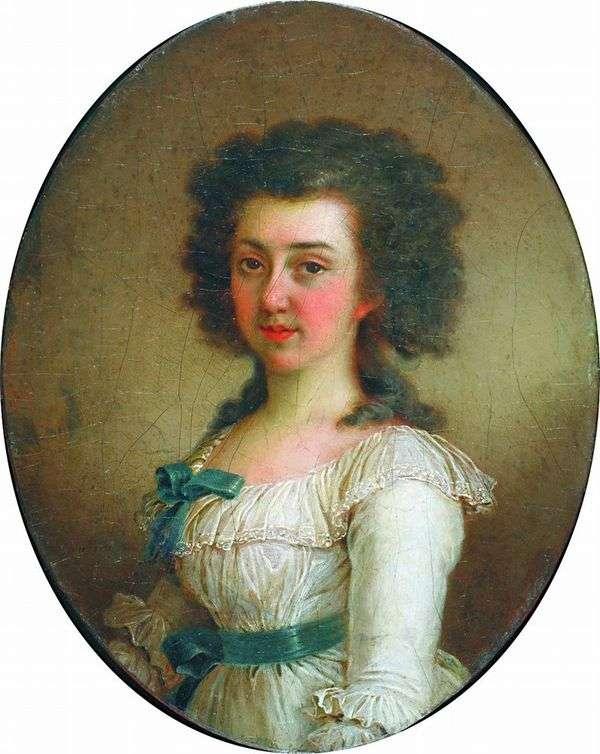 E. M. Olenina   ウラジミールBorovikovskyの肖像