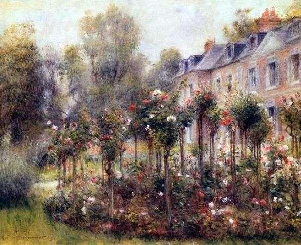 Vargemontのロザリオ   Pierre Auguste Renoir