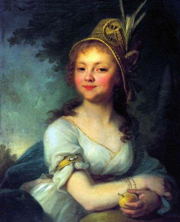 E. N. Arsenyeva   ウラジミールボロビコフスキーの肖像画