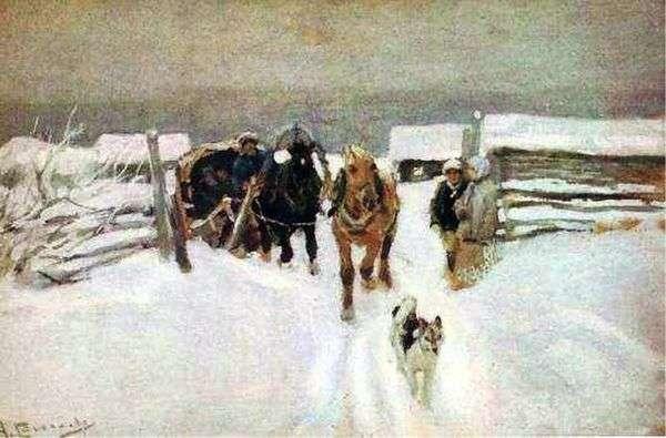 冬   アレクセイ・ステパノフ